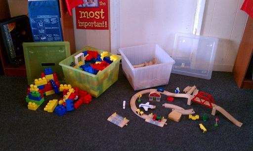 Blocks and Train Set